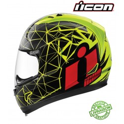 Casque ICON ALLIANCE CRYSMATIC YELLOW
