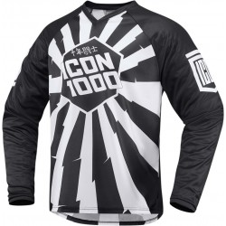 ICON 1000 Laceface Jersey - Black