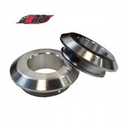 Entretoises de roues Inox - FIXE - ARRIERE - montage rapide