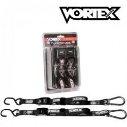 2x Sangles d'arrimage VORTEX 200cm - 350kg