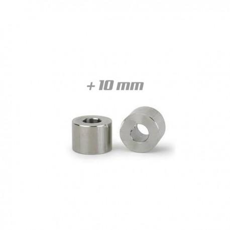 2x Cales d'élévation étriers +10mm