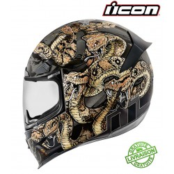 *NEW* Casque ICON AIRFRAME PRO COTTONMOUTH