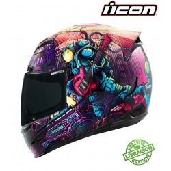 Casque ICON AIRMADA SPACE BASS FACE