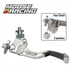 Levier Embrayage Shorty - MOOSE RACING Démultiplié - 3 positions - NOIR