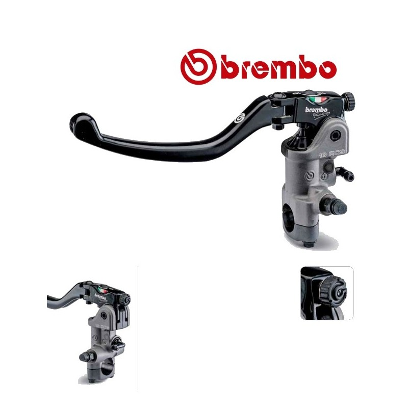ma tre cylindre embrayage brembo pr19 rcs levier long. Black Bedroom Furniture Sets. Home Design Ideas