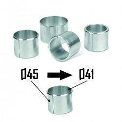 2x Bagues d'adaptation Ø45 à Ø41