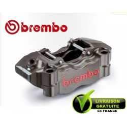 ETRIER BREMBO RADIAL DROIT TAILLE MASSE 2 PARTIES P4 34/30 ENTRAXE 100MM