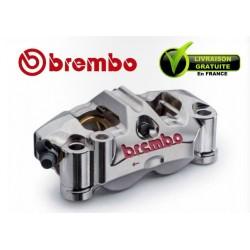 ETRIER BREMBO RADIAL MONOBLOC GP4RR GAUCHE P4 32/36 NICKELE