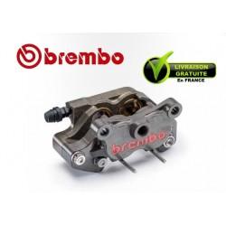 ETRIER BREMBO ARRIERE AXIAL 2 PARTIES P4 24 CNC ENTRAXE 64MM POUR DISQUE 8MM
