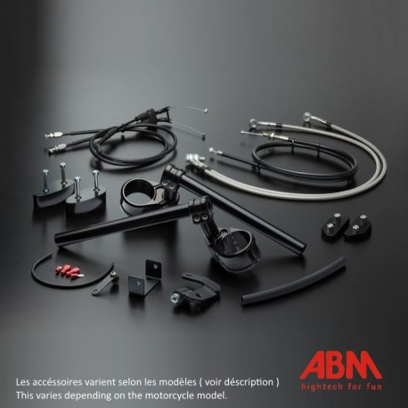 Kit MultiClip ABM Reglable - GSXR1000 - 07-08 (Kit Sport Version)