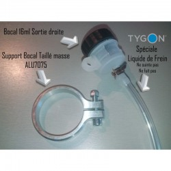 Kit Complet Support bocal Diam50 + Bocal + Durite Tygon 30cm