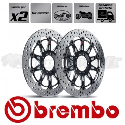 2x Disques CUSTOM et CAFÉ RACER - BREMBO THE GROOVE