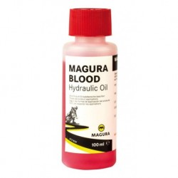 Huile hydraulique MAGURA Blood - Huile Mineral 100ml