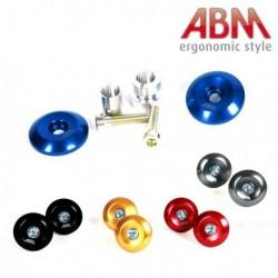 Embout de Guidon ABM - ShortCap - Bleu