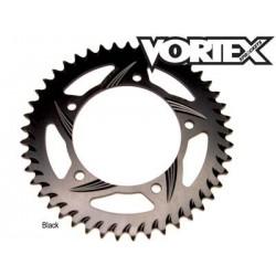Couronne VORTEX 54D - NOIR - ZX6R ZX636R ER6 - Z750