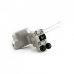 Contacteur ISR - 1 rocker + 2 poussoirs - Position droite - CNC - Guidon 22mm