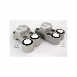 Contacteur ISR - 1 slide + 2 poussoirs - Position gauche - CNC - Guidon 25,4mm