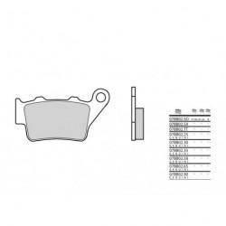 Plaquettes de frein origine BREMBO - 07BB02 58 - Organique
