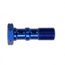 Brake Screw Double -10X125 - BLUE
