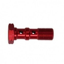 Brake Screw Double -10X125 - RED