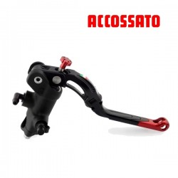 Master cylinder Brake 19mm ACCOSSATO - Forged with level repliable