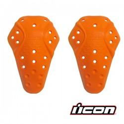 Coque de protection ICON - Genouillère / Short / Coude ...