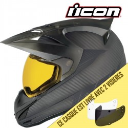 Casque ICON VARIANT BATTLESCAR CHARCOAL GRAY