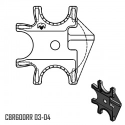 Triple Braket - CBR600RR 03-04