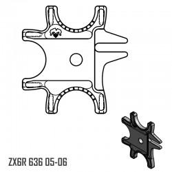 Platine Triple - ZX6R 636 05-06
