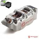 Etrier Gauche Radial 100mm DISCACCIATI - 4P - CNC - Argent
