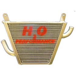 Radiateur d'eau additionnel CB 600 Hornet 2007-2014 H2O Performance
