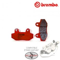 Brake Pads BREMBO for caliper compatible bracket 50STUNT - ORGANIC