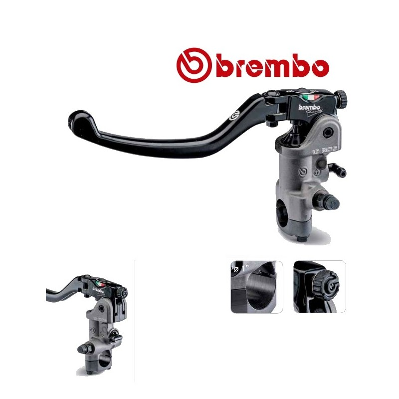ma tre cylindre embrayage brembo pr19 rcs lev long repliable. Black Bedroom Furniture Sets. Home Design Ideas