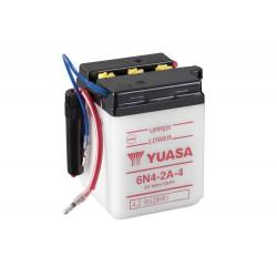 Batterie YUASA 6N4-2A-4 conventionnelle