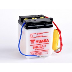 Batterie YUASA 6N4-2A-7 conventionnelle