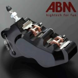 Front Left Caliper CNC ABM isaac4 - 4 piston - 40mm
