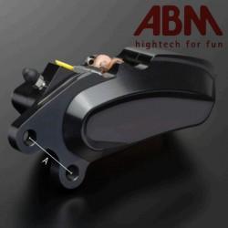 Etrier CNC ABM isaac4 - 6 Pistons - Position AVDroit - entraxe 72mm - INTRUDER