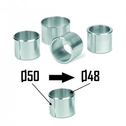 2x Bagues d'adaptation Ø50 à Ø48