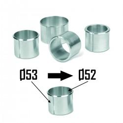 2x Bagues d'adaptation Ø53 à Ø52