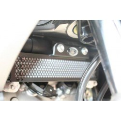 Protection de radiateur R&G RACING noir Honda VFR800 X Crossrunner