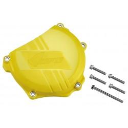 Protège carter embrayage UFO jaune Suzuki RM-Z250