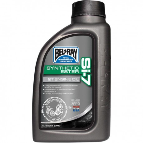 Huile moteur 2T BELRAY - 1 Litre - SI-7 SYNTHETIC