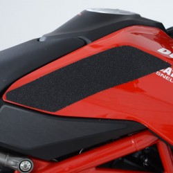 Kit grip de réservoir R&G RACING 2 pièces translucide Ducati Hypermotard 950