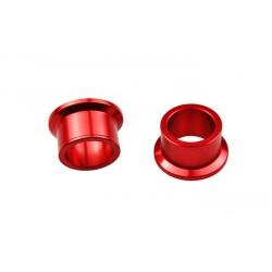 Entretoise de roue arrière SCAR rouge Suzuki RM-Z250/450/450Z