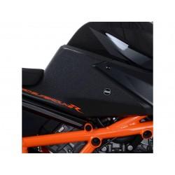 Kit grip de réservoir R&G RACING 2 pièces noir KTM 1290 Superduke R