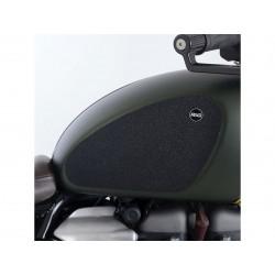 Kit grip de réservoir R&G RACING 2 pièces translucide Triumph Scrambler 1200
