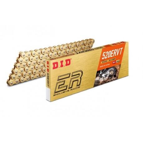 Chaîne de transmission D.I.D 520 ERVT or/or 120 maillons