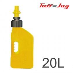 Bidon TUFF JUG - Jaune Transparent 20L