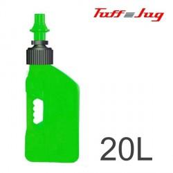 Bidon TUFF JUG - Vert Transparent 20L