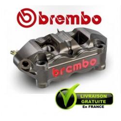 ETRIER BREMBO RADIAL MONOBLOC GAUCHE P4 32/36 ENTRAXE 100MM ANODISE DUR